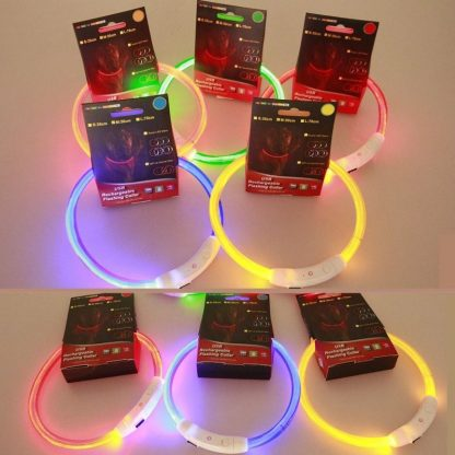 Rechargable Dog LED Night Collar